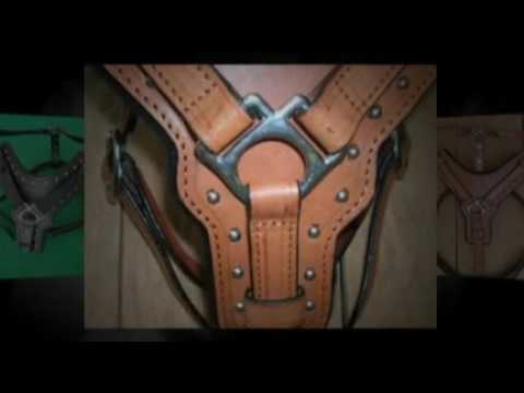 HILASON LEATHER DOG HARNESS