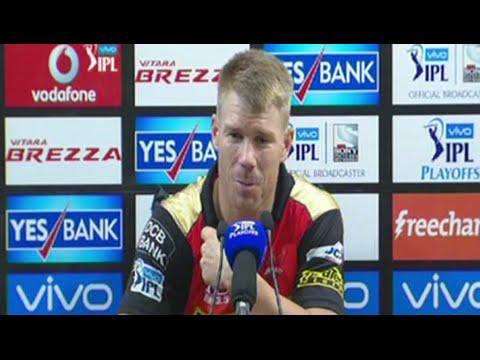 SRH v KKR: We Know Who Gujarat Lions' Key Players Are - David Warner