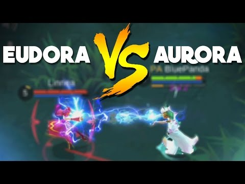 Mobile Legends Aurora VS Eudora (1vs1)