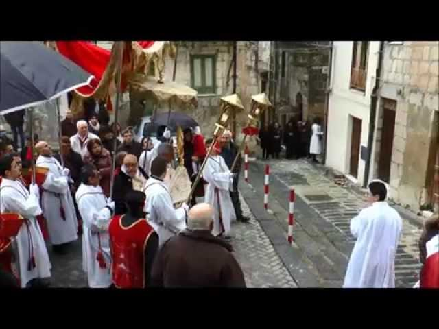Filmato Quarantore Madrice processione