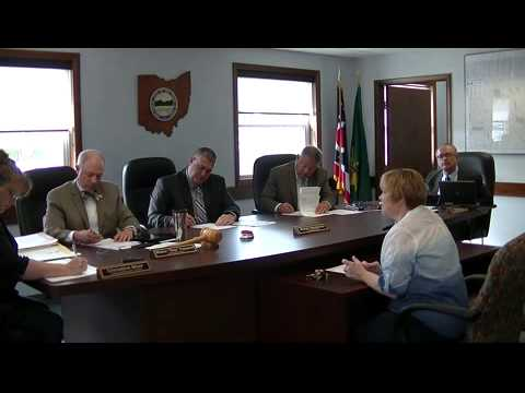 Geauga County Commissioners' Meeting, 5/12/2015