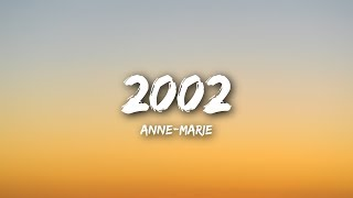 Download Lagu Anne-Marie - 2002 (Lyrics / Lyrics Video) Gratis STAFABAND