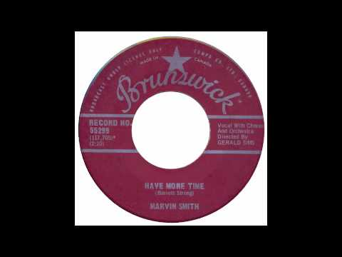 northern soul - marvin smith - have more time - brunswick