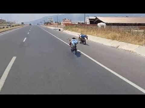 turgutlu kasaba mobylet yarışı