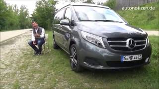 Mercedes Benz Marco Polo Edition 250d (190 PS) 2017 / 2018 Vorstellung / Review / Test
