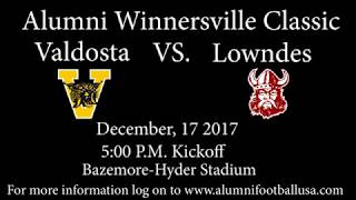 Winnersville Classic Alumni Football game