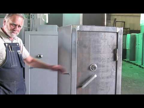 Sturdy Gun Safe 9lb. Sledge Hammer Deadbolt Test Video