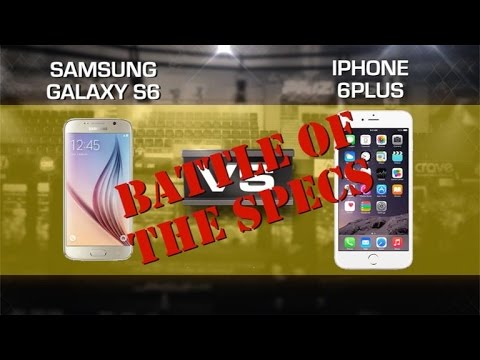 Prizefight: Battle of the Specs Samsung Galaxy S6 vs Apple iPhone 6 Plus