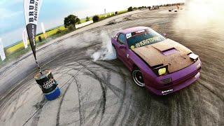 CarWars Panenský Týnec Gymkhana RD2 2k19 #KRSTDRFT drift lifestyle vlog #289