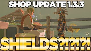 Shop Update 1.3.3... WHERE'S THE HYLIAN SHIELD in Breath of the Wild?! | Austin John Plays