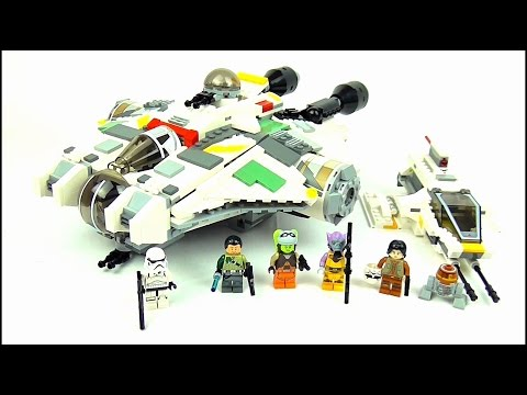 STAR WARS REBELS LEGO The Ghost & The Phantom Set Reviews | Votesaxon07