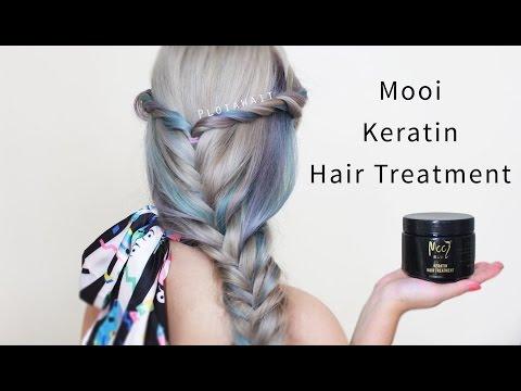[REVIEW] สูตรโกงสีผมอยู่ทนนาน Mooi Keratin Hair Treatment   Ploiawait