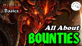 Diablo 3 Basics - All About Bounties - bounty ONLY legendaries and materials for crafting