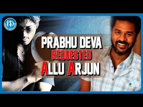 Allu Arjun  To Debut In Bollywood -  Prabhu Deva   Remo D'Souza