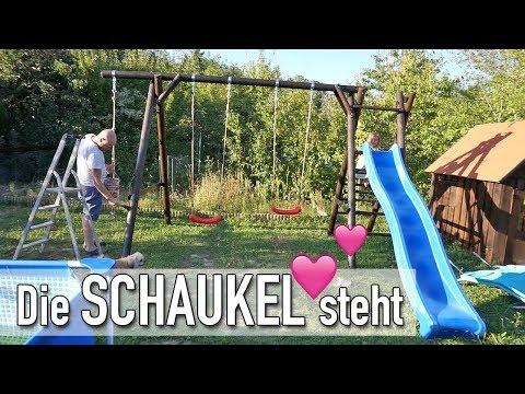 Schaukel und Rutsche im Garten | VLOG #595 | DIANA DIAMANTA