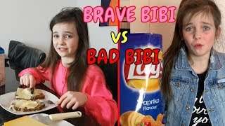 BRAVE BIBI vs BAD BIBI - SKETCH - Bibi