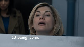 the 13th doctor being iconic for 6 minutes