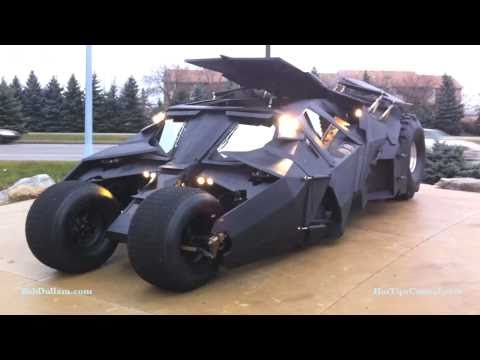 Tumbler Replica appears in Grand Rapids, Michigan! It s the Batmobile!