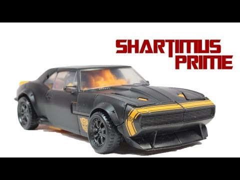 Transformers 4 Age of Extinction High Octane Bumblebee Deluxe Class Movie Action Figure Review