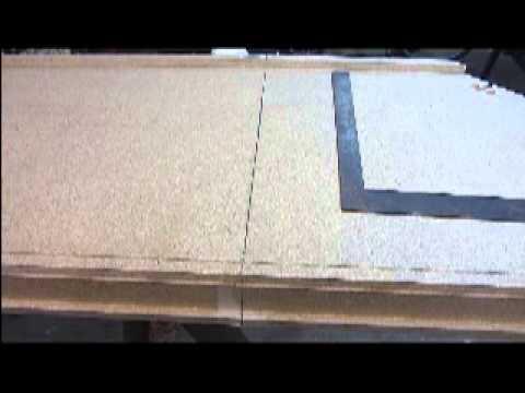 Cutting a Laminate Countertop - DIY