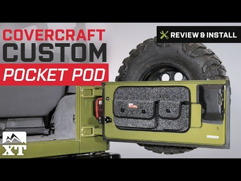Jeep Wrangler Covercraft Custom Pocket Pod (1997-2016 TJ & JK) Review & Install