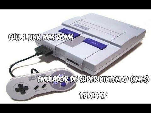Descargar el emulador de Super Nintendo Snes para la PSP 1 link mas Roms