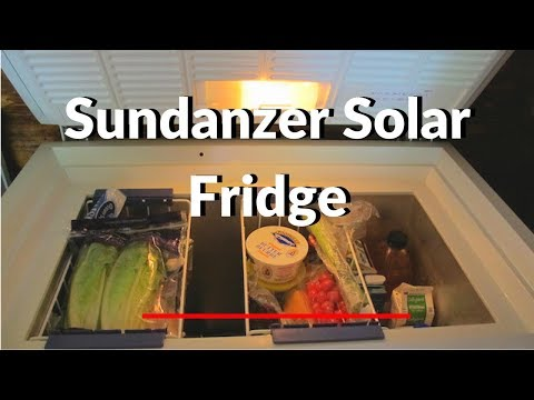 Review of Sundanzer Solar Fridge
