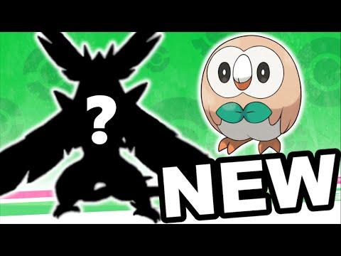 New Rowlet Evolutions!! - Pokémon Sun and Moon New Starter Pokémon Predictions