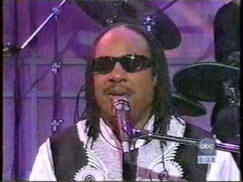 Stevie Wonder-For Your Love(Good Morning America,mar 1995)
