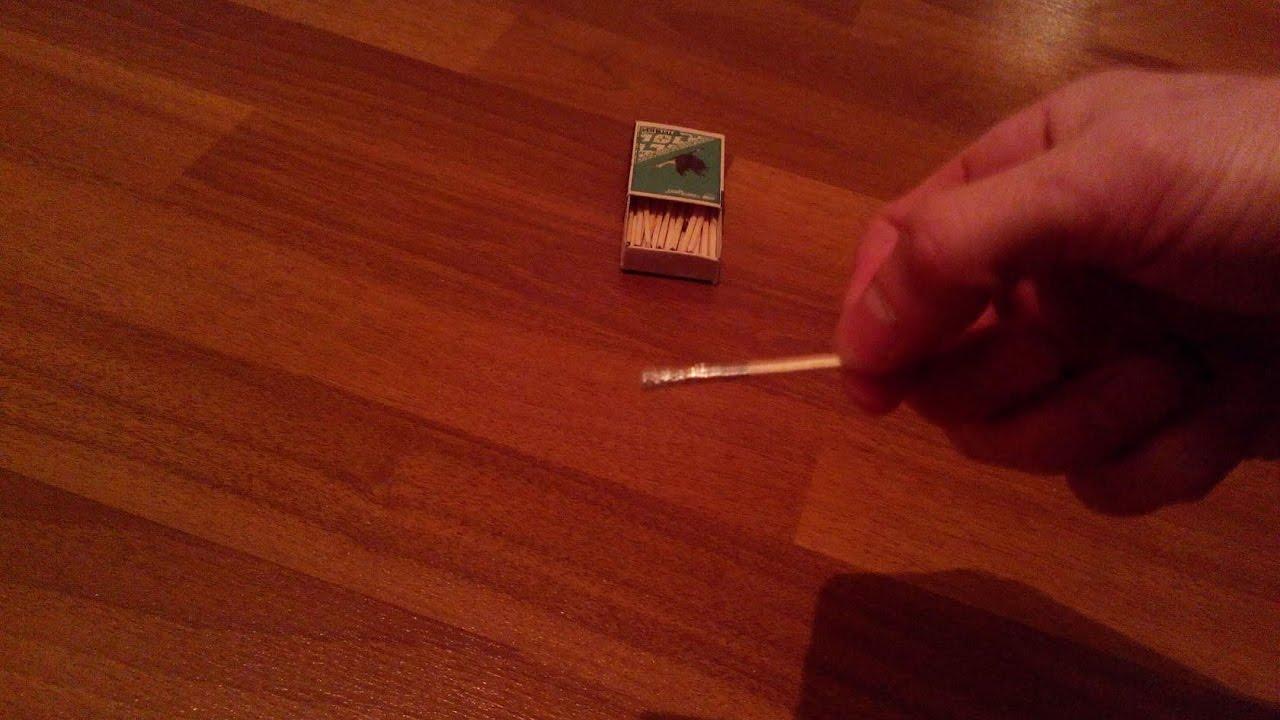 Как сделать ракетку из спичек