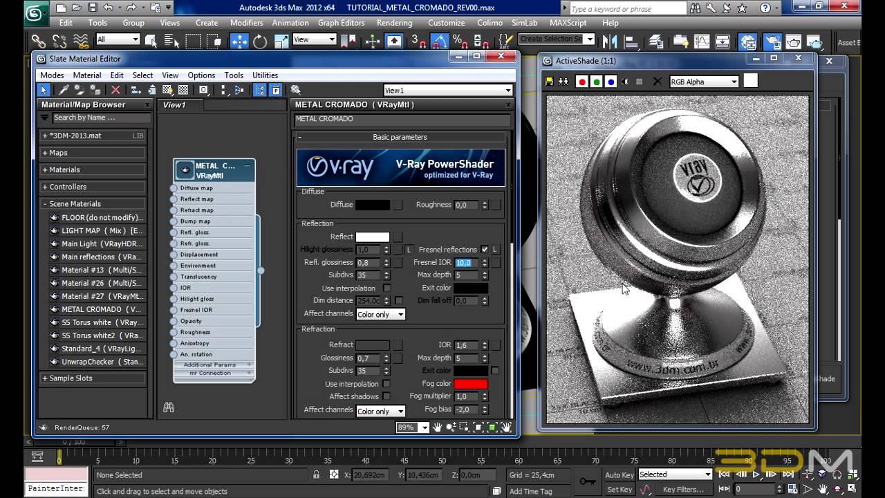 В настройках качество ставим 480р или 720р v-ray 20002 для начинающих