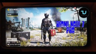 Redmi Note 7 Pro Call of Duty Mobile Battle Royale /Very high setings/Snapdragon 675/Android 9