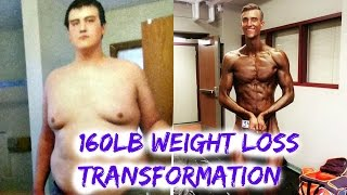160Lb Pound Weight Loss Transformation