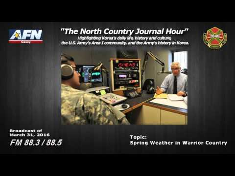 """""""THE NORTH COUNTRY JOURNAL HOUR"""" - Highlighting Korea's history and culture, and the Army in Area I."""
