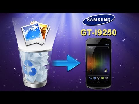 Android Data Recovery: How to Recover Deleted Photos on Samsung Galaxy Nexus (GT I9250)?