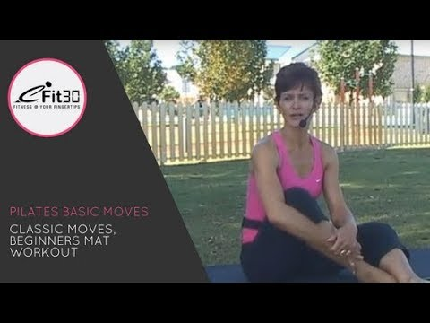 Pilates Classic moves – FULL workout – eFit30