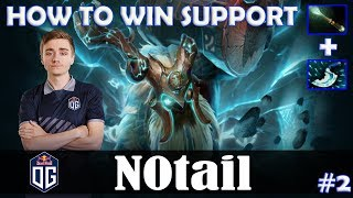 N0tail - Earthshaker Safelane | HOW TO WIN SUPPORT | Dota 2 Pro MMR Gameplay