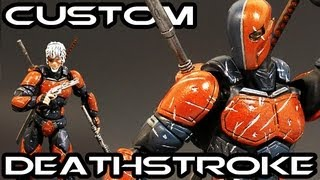 Custom DEATHSTROKE (Anime Style) Action Figure Review