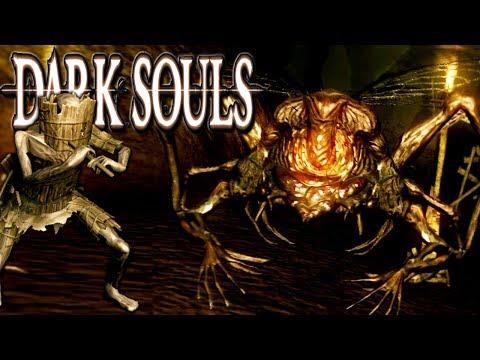 Dark Souls - Blighttown Scary Swamp Gameplay Walkthrough PART 13 HD PC/PS3/360 Blind DS Mod