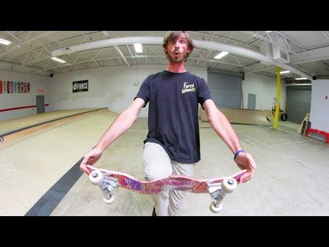 Who Will Break This Skateboard First!?
