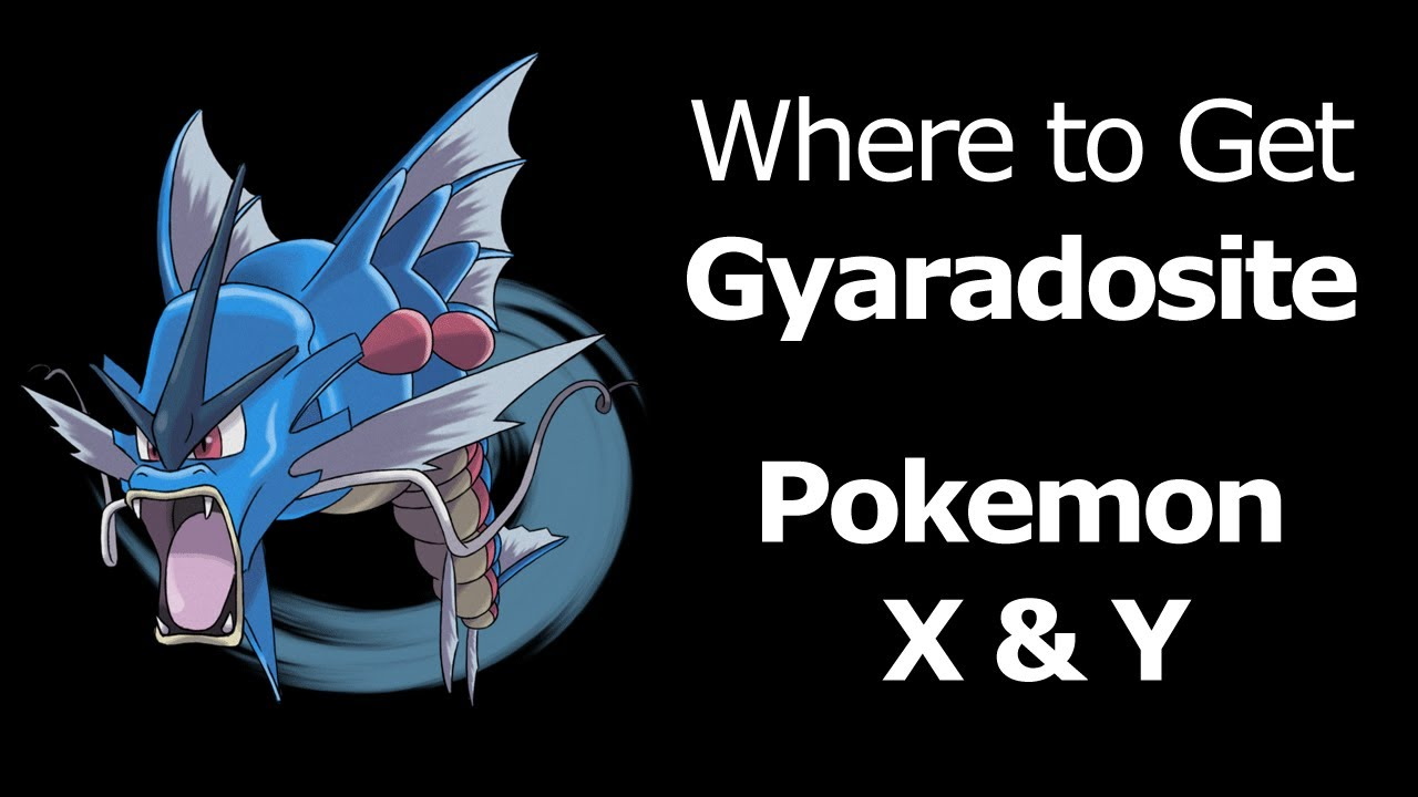 pokemon legends how to get gyaradosite