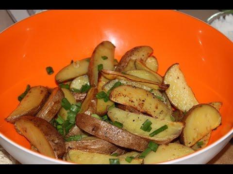 Как приготовить картошку по-селянски - видео