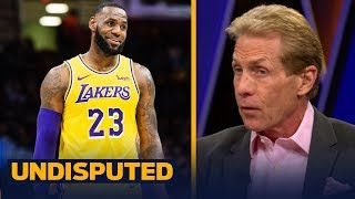 Skip Bayless on how LeBron can lure Anthony Davis to Lakers before trade deadline | NBA | UNDISPUTED