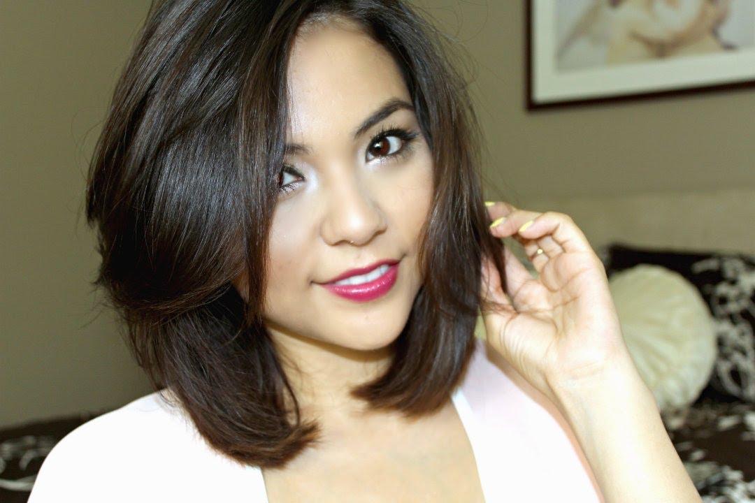How I Straighten My Short Hair! - YouTube