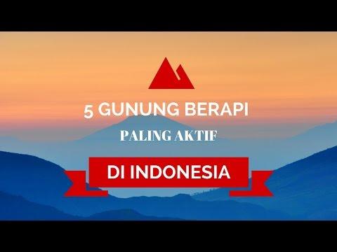 5 GUNUNG BERAPI PALING AKTIF DI INDONESIA #KARYAMP