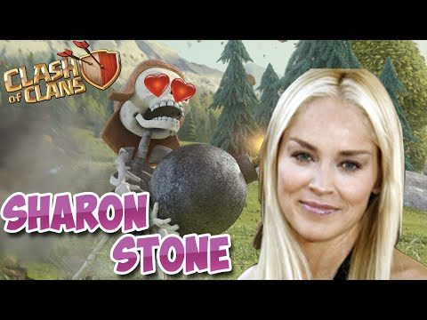 Il vole 1 million d'or à  Sharon Stone à 4650 trophées !  | Clash Of Clans Français