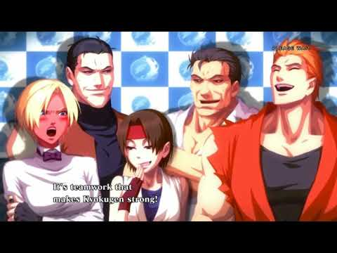 KOF XIII (13) - All Cutscenes, endings of KOF XIII (Arcade English Version)