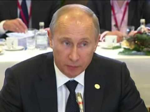 Dec 21, 2012 Belgium_Putin attends Russia-EU plenary meeting in Brussels