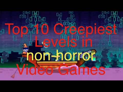 Top 10 creepiest levels in non horror games #1