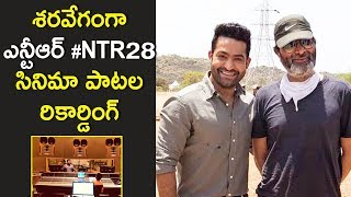 Update on NTR and Trivikram Movie   #NTR28 #Tarak  #Trivikram  #Thaman